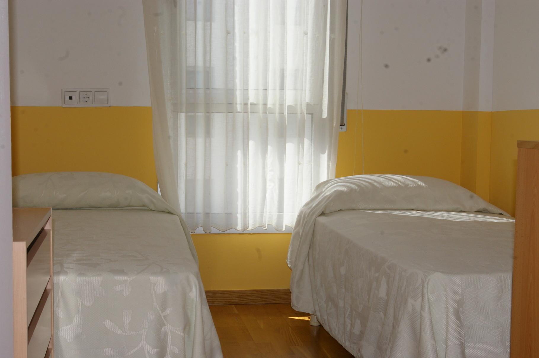 Chambre avec des lits jumeaux