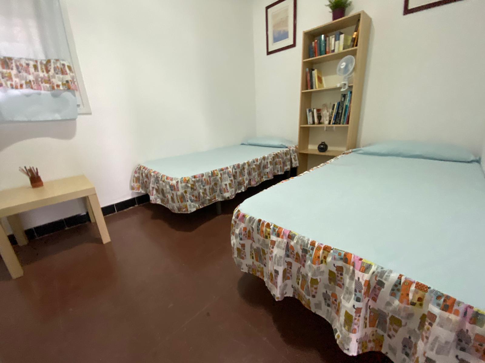 Dormitori amb dos llits individuals