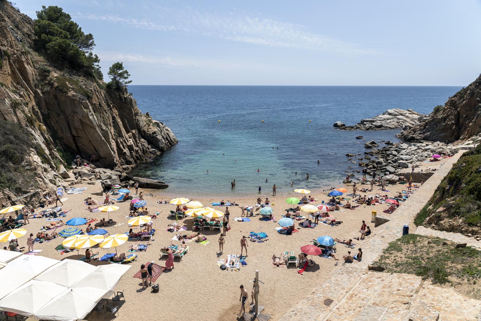 Tossa de Mar, playa