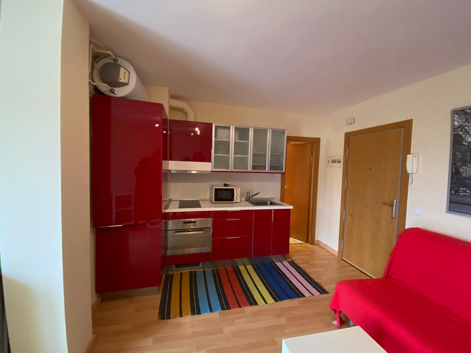 chambre avec cuisine