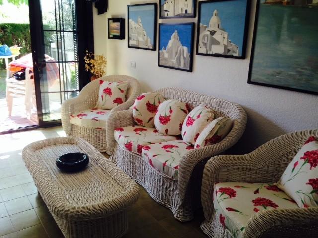 Salón de la casa de alquiler de vacaciones en Tossa de mar