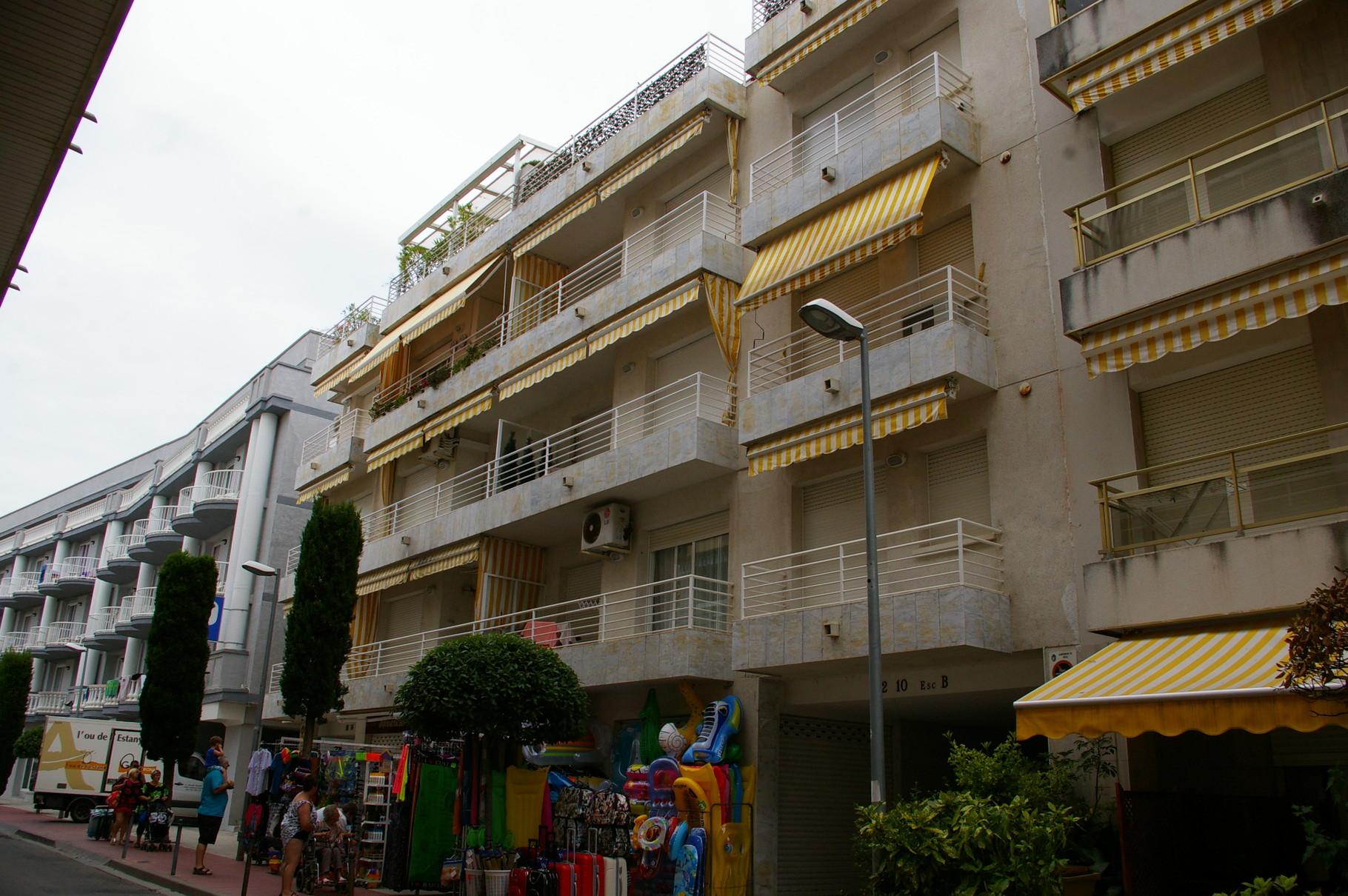 Edificio del apartamento