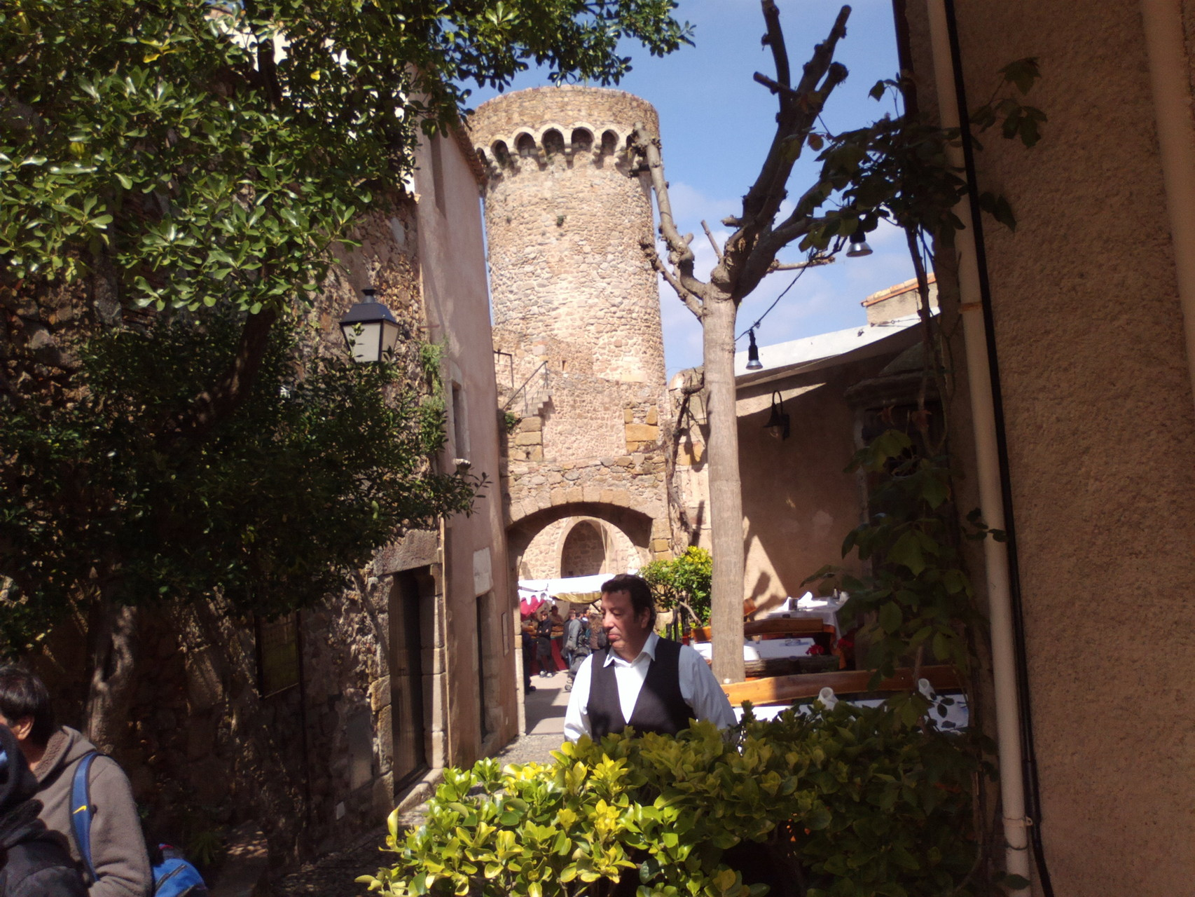 ciudad histórica de Tossa de Mar