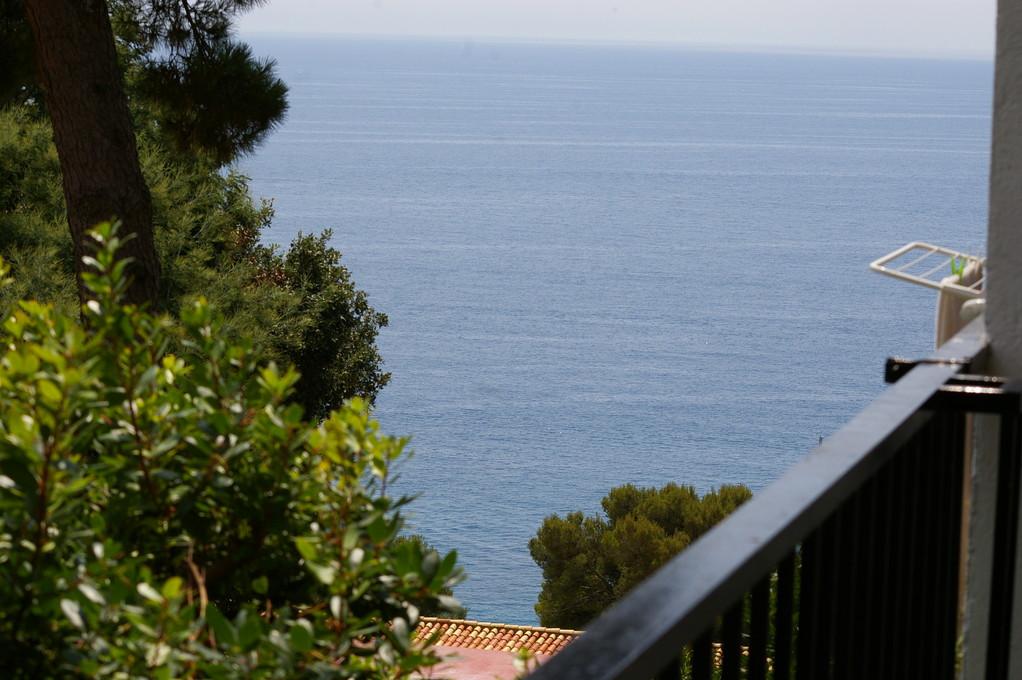 """vistas desde terraza de la """"casa, alquiler, vacaciones, Costa, Brava, Girona"""""""