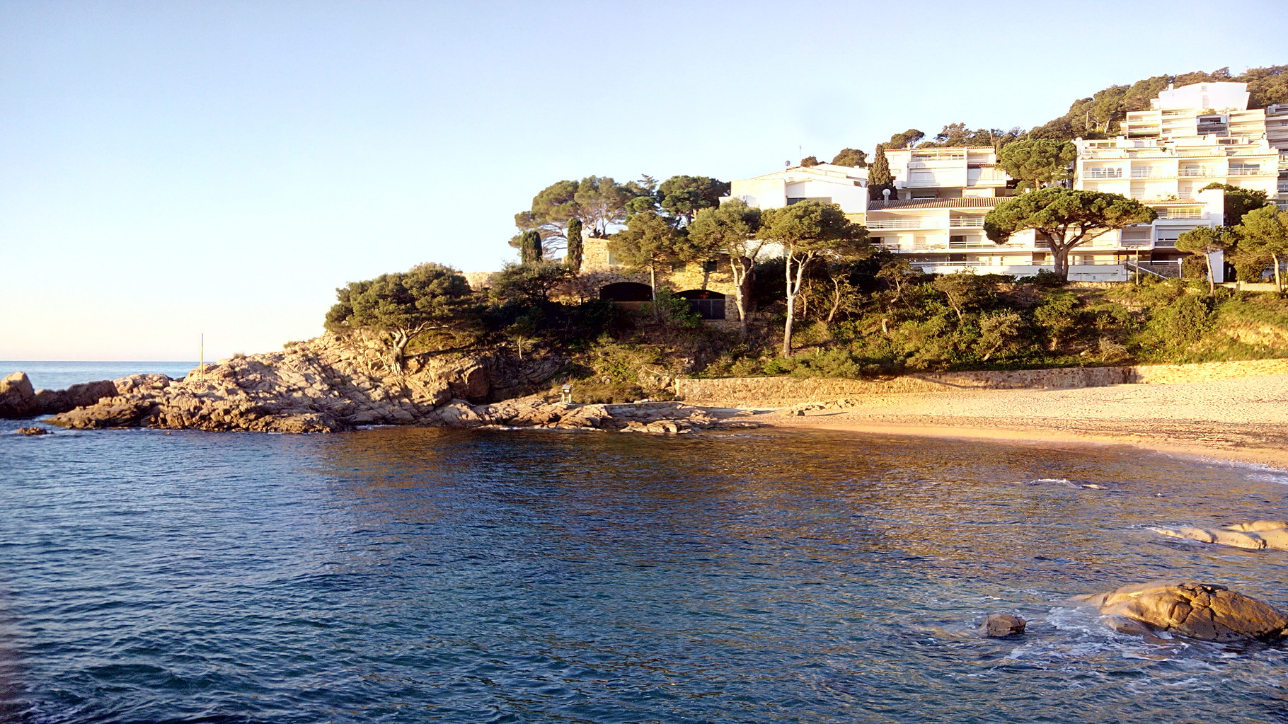Cala Salionç beach, for the exclusive use of residents