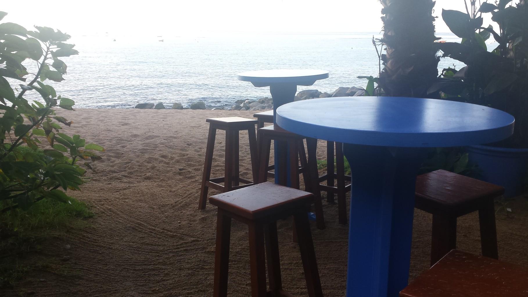 Beach Club bar-restaurant on Cala Llevadó beach less than a kilometer away
