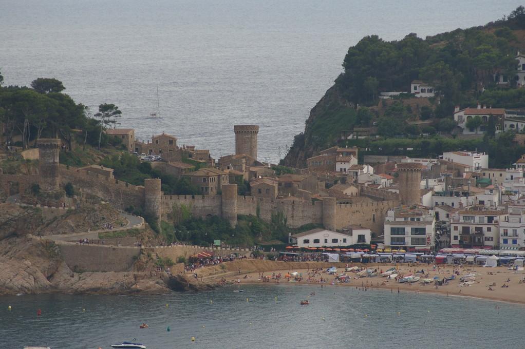 """Tossa de Mar pueblo pesquero donde se encuentra la """"casa, alquiler, vacaciones, Costa, Brava, Girona"""""""