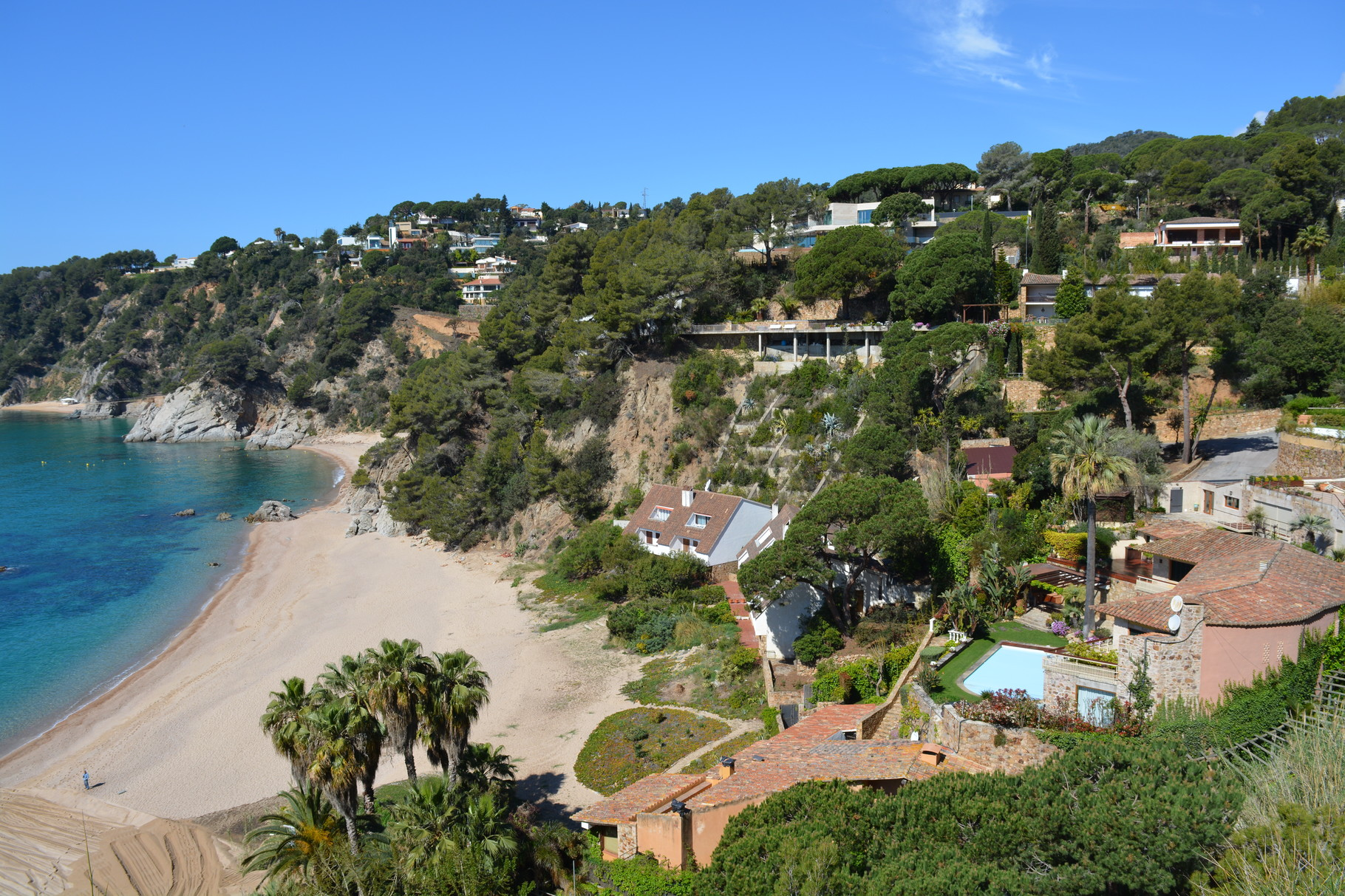 playa de Santa María de Llorell