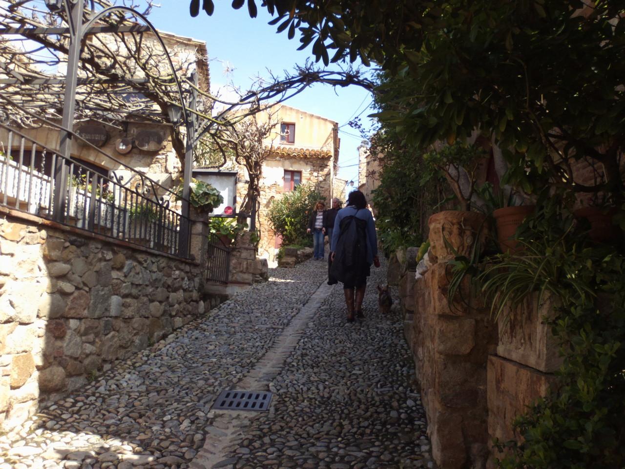 Un paseo por Tossa de Mar