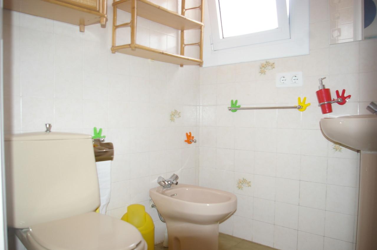Baño de la casa de vacaciones en Tossa de mar