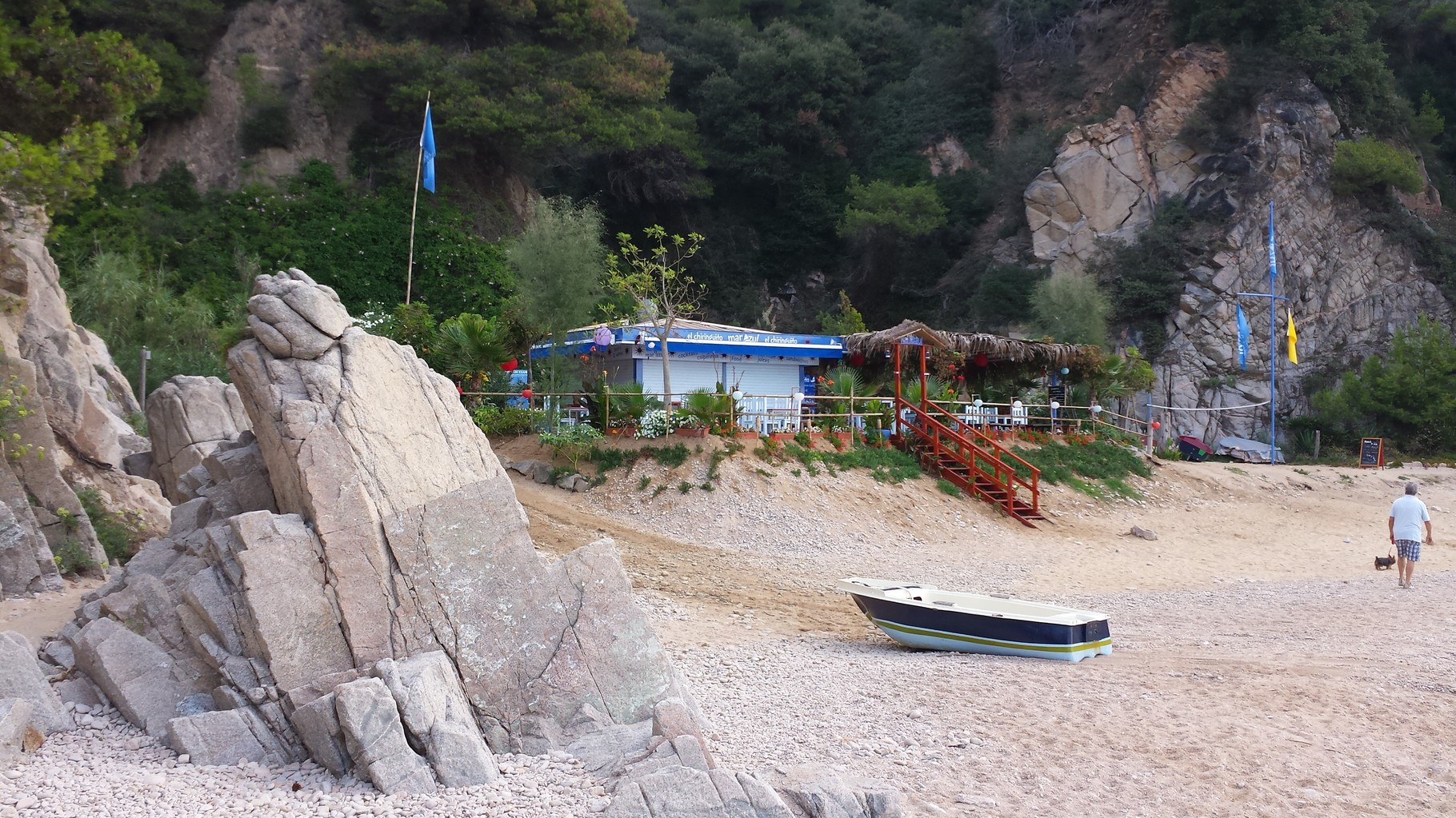 Chiringuito en la playa