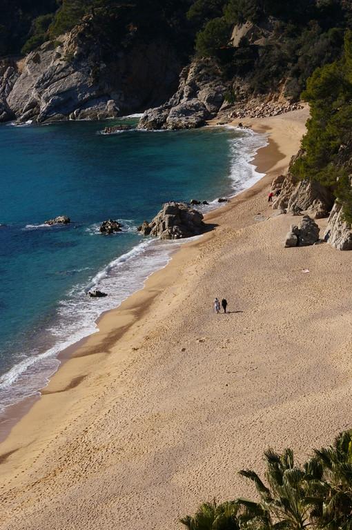 plages Santa María de Llorell, Cala Llevado