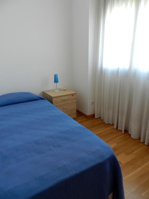 Dormitorio del apartamento en Tossa de Mar