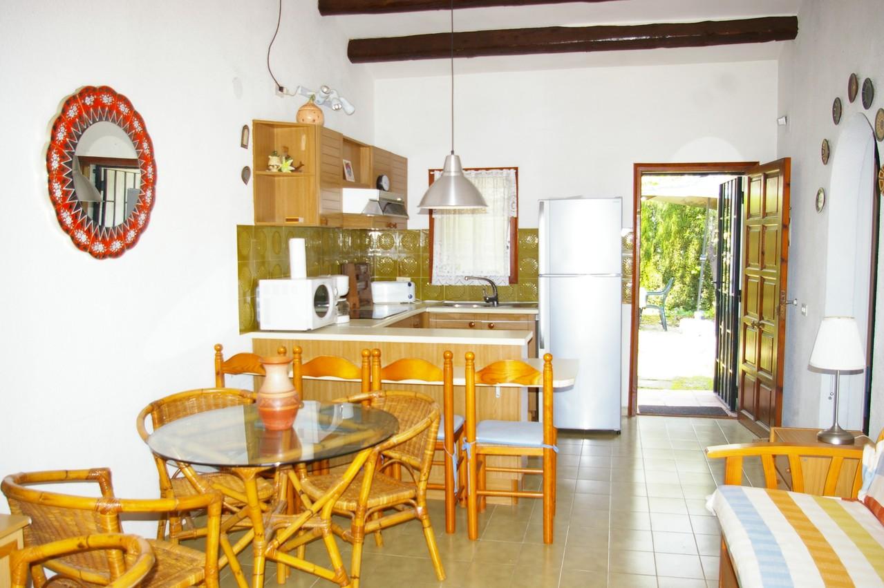 Casa de vacaciones con piscina en Tossa de Mar, comedor