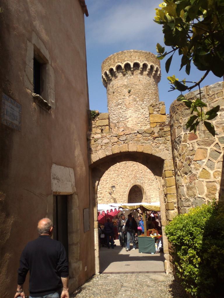Château médiéval de Tossa de Mar