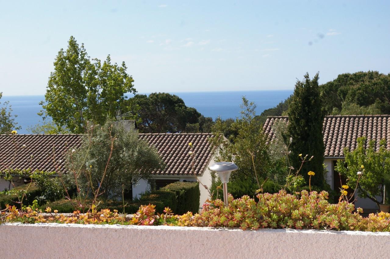 Casa de vacaciones con piscina en Tossa de Mar, vistas desde la terraza