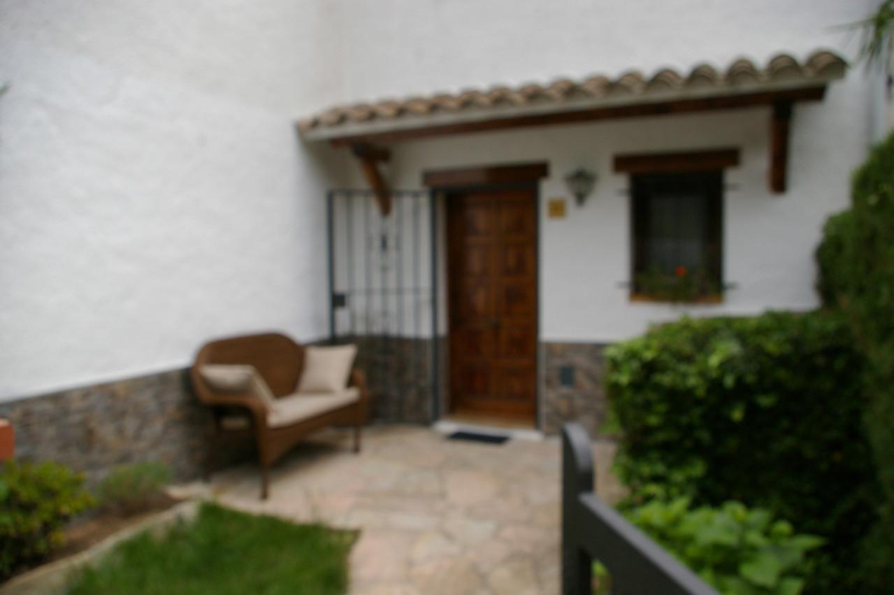 Entrad de la casa de vacaciones en Santa María de Llorell, Tossa de Mar