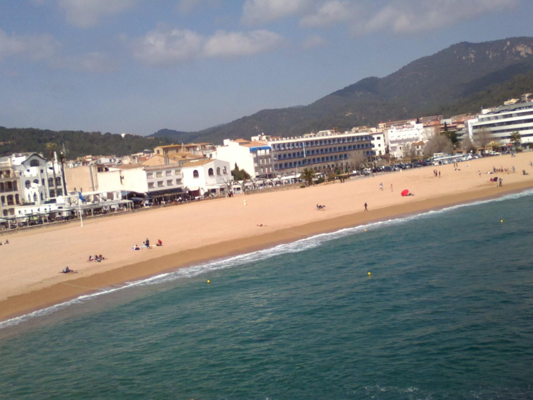 plage Tossa de Mar