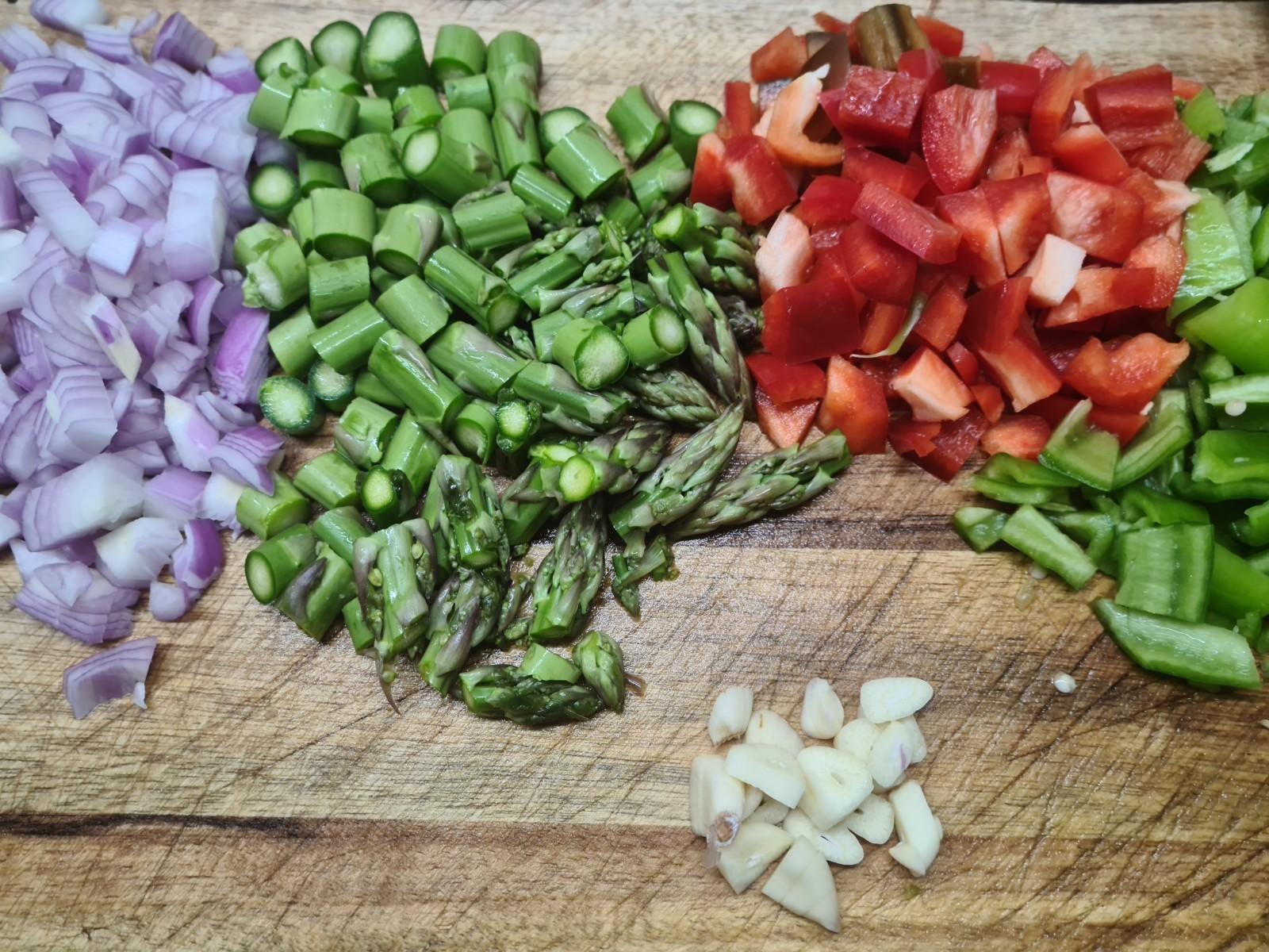Como debemos picar las verduras
