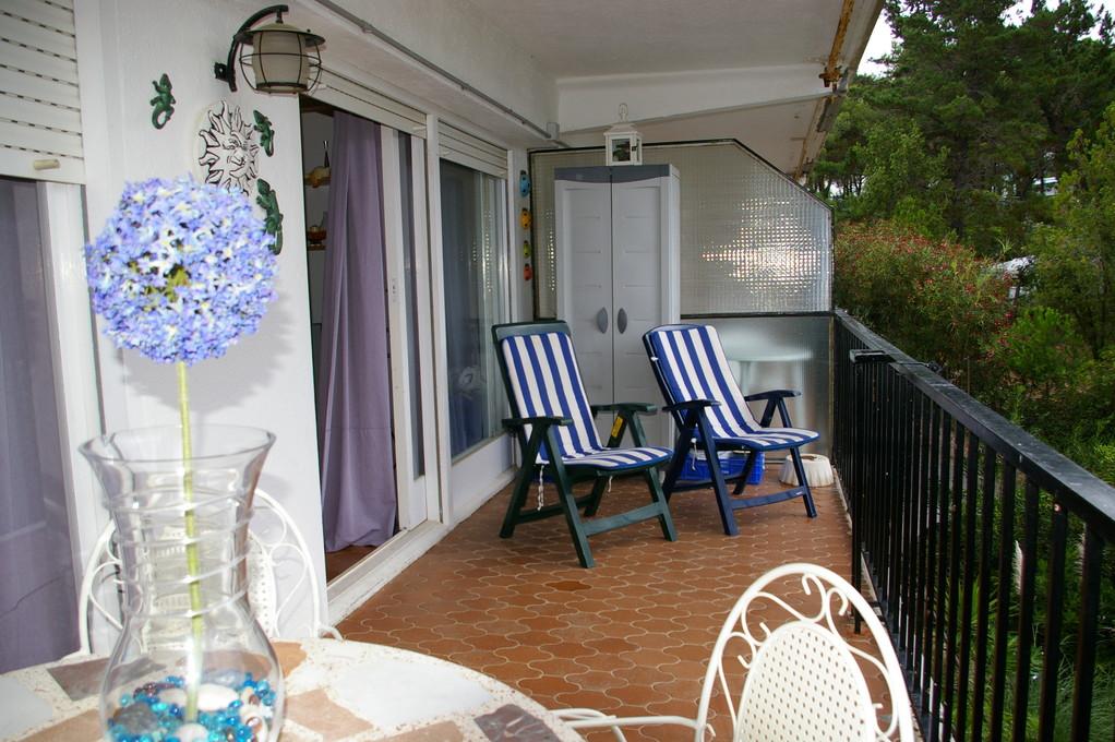 Terrasse, l'appartement Cala Llevadó 2