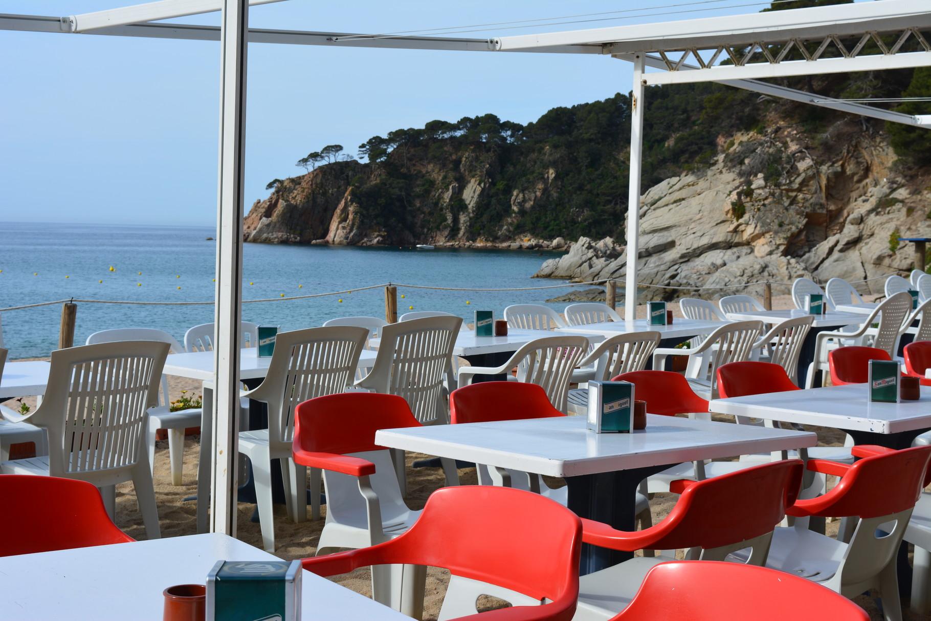 bar de la plage Santa María de Llorell
