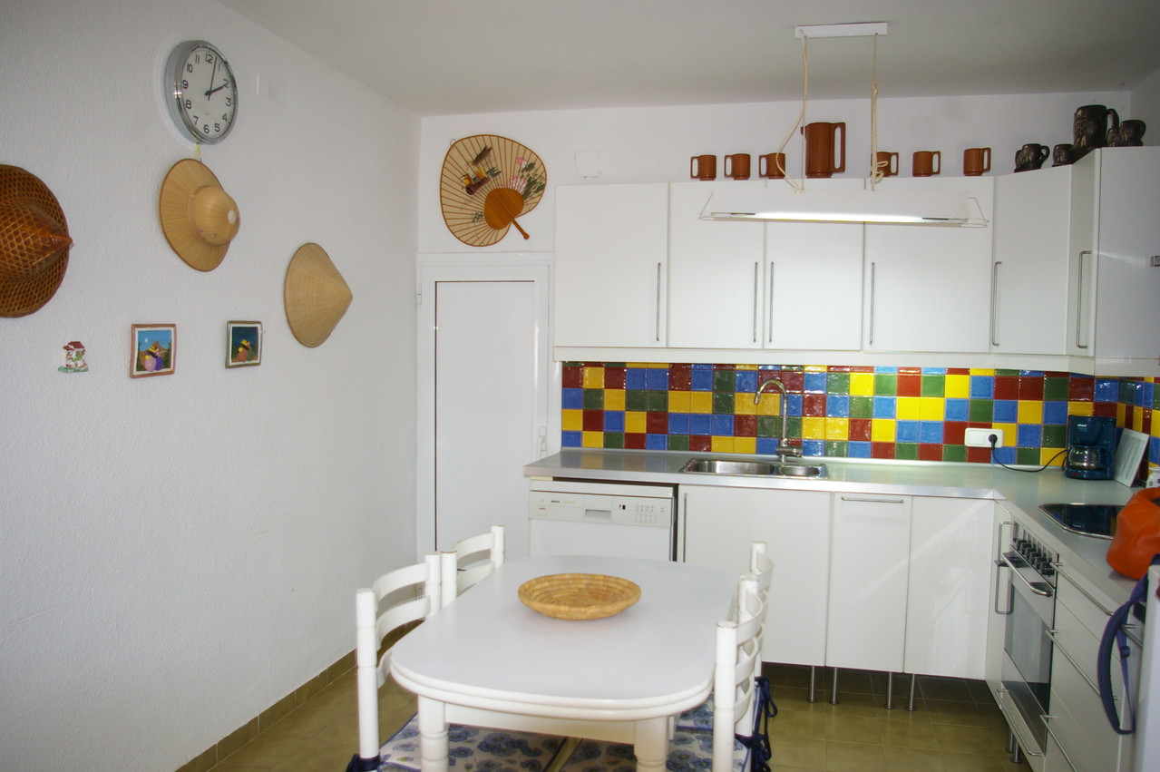Cocina de la casa de vacaciones en Tossa de Mar