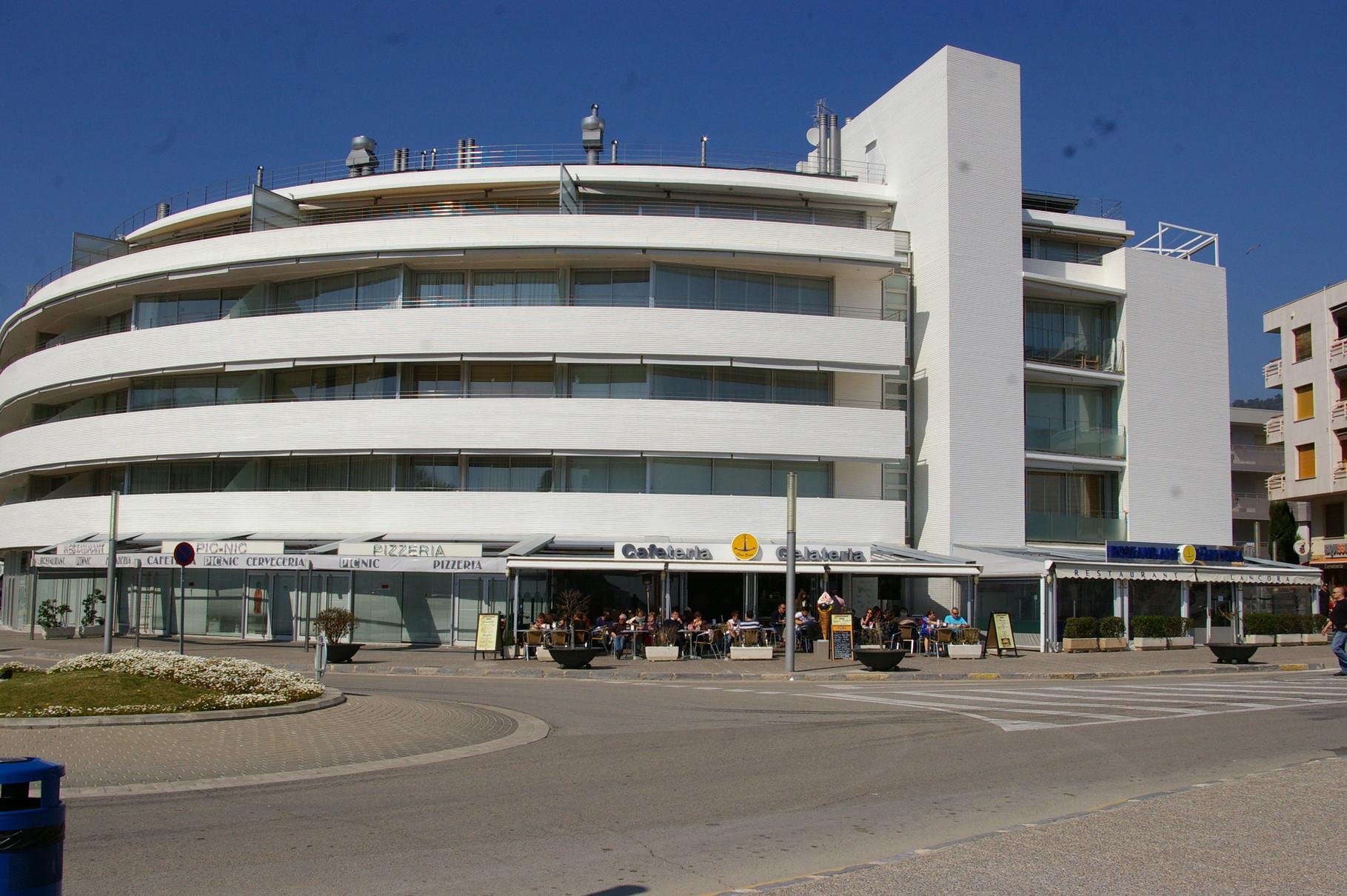 Appartement façade du bâtiment