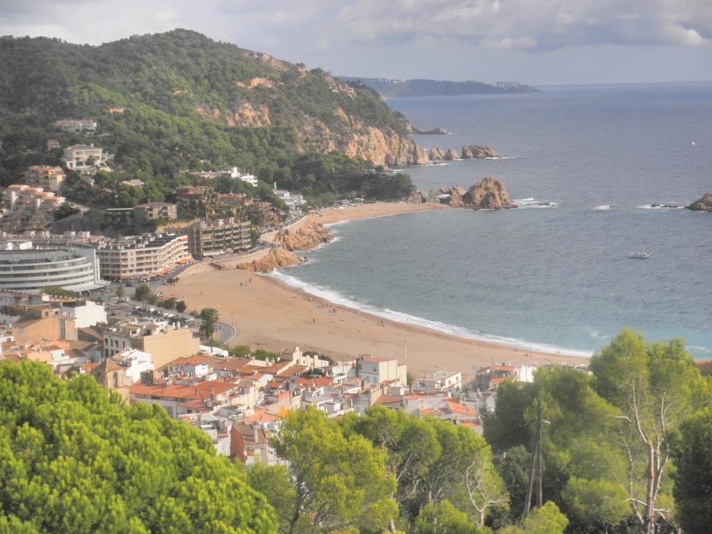 """Vista panoramica de """"Tossa de Mar"""""""