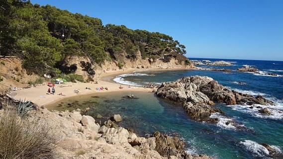 Playas de encanto de la Costa Brava