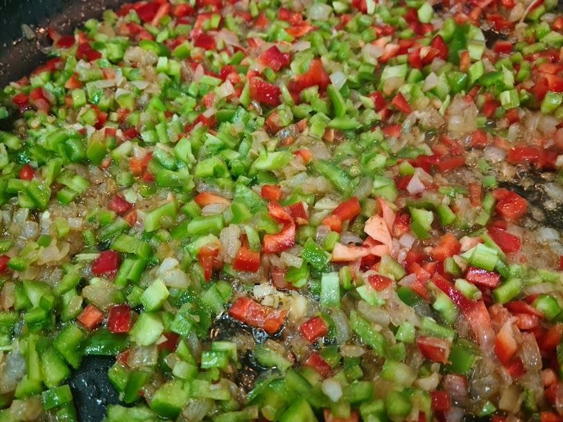 verduras rehogando