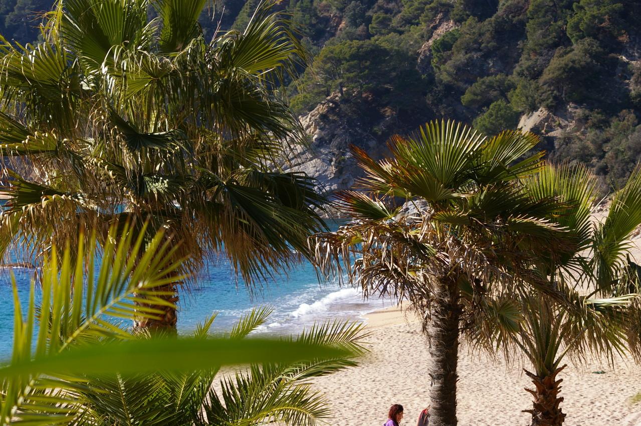 La playa a 900 metros de la casa de vacaciones Cristina