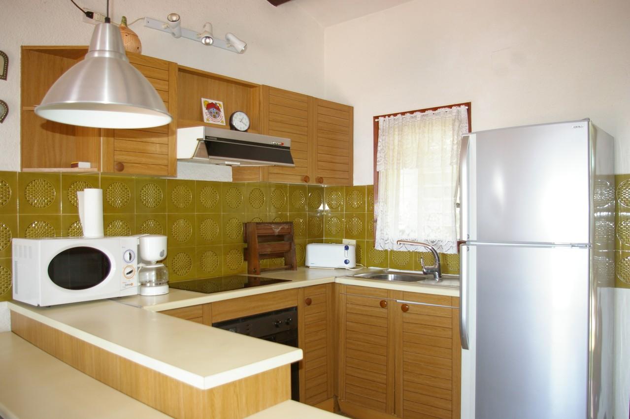 Casa de vacaciones con piscina en Tossa de Mar, cocina