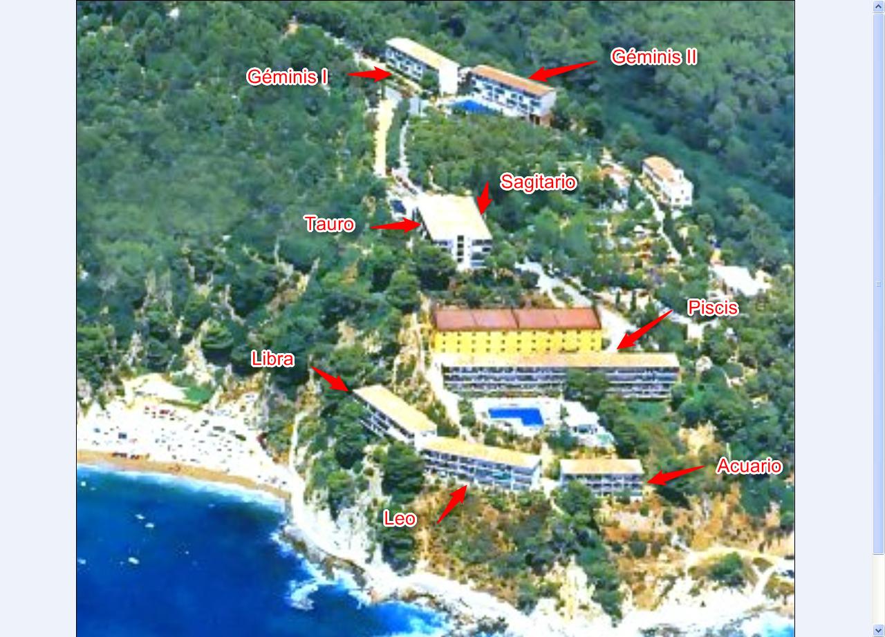 """The Cala Llevadó 2 apartment is located in the """"SAGITTARIUS"""" building"""