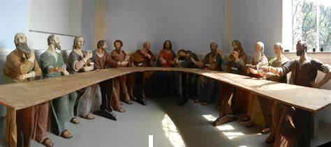Abendmahlgruppe auf Madonna del Sasso