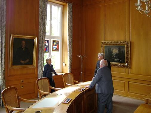 Staunen auch im Regierungsratszimmer (Fotos: Markus Hauser, Zug)