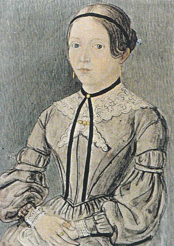 """Ida von Müller, die edle Spenderin des """"Idaheims"""" Näfels"""