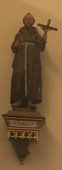 St. Franziskus Westwand