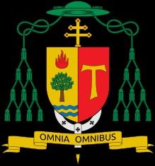 Wappen von Erzbischof Fridolin Ambongo Besungu