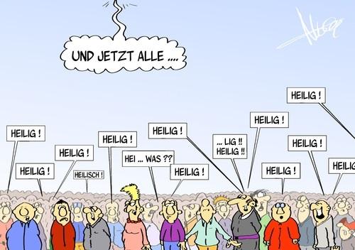Bild: de.toonpool.com/cartoons/Heiligsprechung_222505