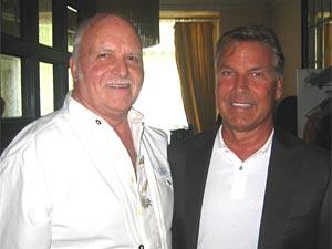 """Louis und Kurt: Interlaken, Sendung """"Hopp de Bäse!"""" vom 12. März 2011. Zwei beliebte Stars gingen - die Erinnerung und ihr Lächeln bleiben. (Foto: Homepage Louis Menar)"""