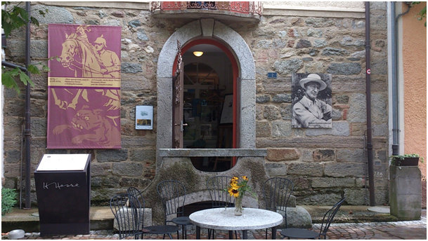 Eingang zum Museo Hesse in Montagnola