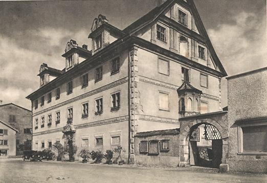 Freulerpalast anno 1939 (Foto: R. Zinggeler. Kilchberg-Zürich)