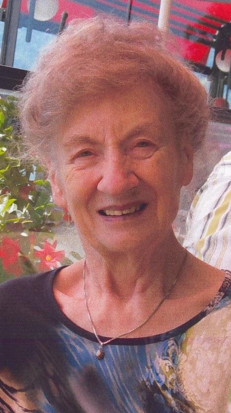 Trudi Landolt-Feldmann an ihrem 84. Geburtstag (2012) (Foto: Familie Landolt)