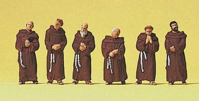 """Etwas eigenwillige Darstellung auf einer Spielwaren Firma unter dem titel """"Franziskaner"""", siehe www.reimann.de"""