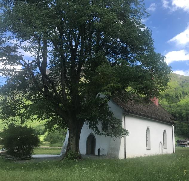 Sebastiankapelle von Nordwesten
