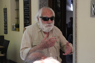 Begegnung mit Edgardo Ratti, Vira TI, geboren 1925 (Foto: Voce del Gambarogno)
