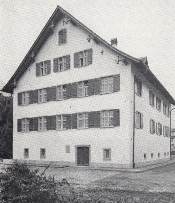 Das 1604 erbaute, 1963 restaurierte Idaheim (Foto: aus der erwähnten Schrift)