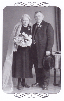 Hochzeitsfoto  meiner Eltern  1936