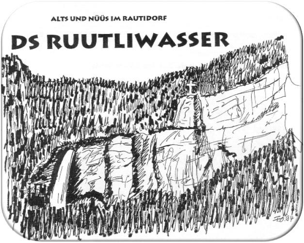 """Titelzeichnung """"Ds Ruutliwasser"""""""