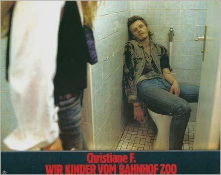 """1981 entstand das erschütternde und aufrüttelnde Filmwerk """"Wir Kinder vom Bahnhof Zoo"""", das die Drogentragik in Berlin sehr   drastisch in Szene setzte. (Foto: www.hdf.deutsches-filminstitut.de/cont_h_66_b.htm)"""